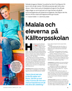 Reportage 2 Feb2015AMOSJärfälla